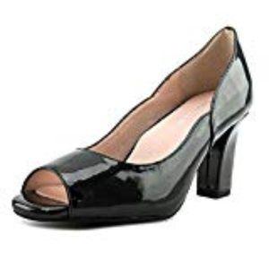 Taryn Rose Womens Peep Toe Classic Platform Pumps